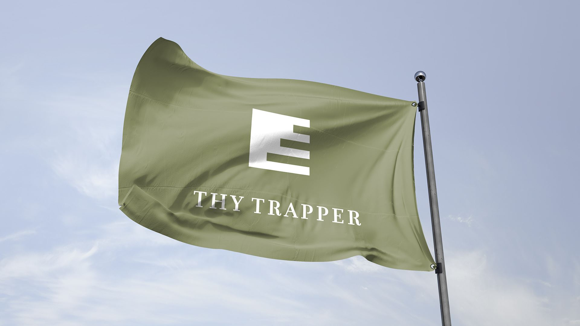 Thy Trapper flag