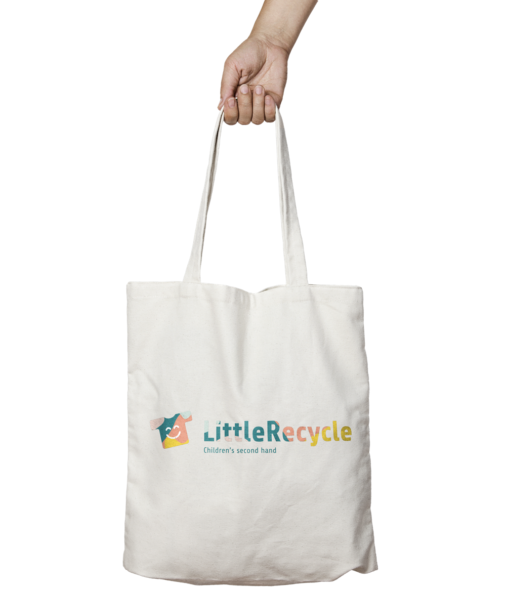 LittleRecycle tote-bag Mockup